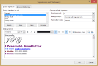 Outlook signatures 2 200x134 - Office Watch Microsoft Outlook Word Excel Powerpoint Access Teams Onenote