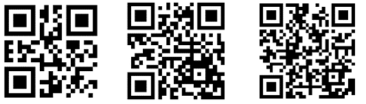 QR codes of increasing complexity - Making QR Codes for Word and Office
