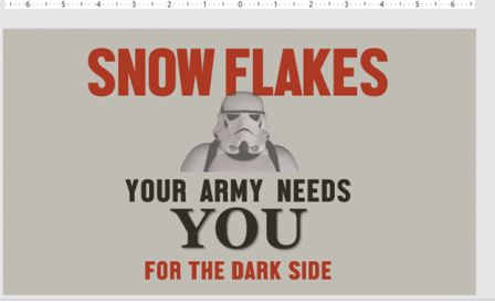 SnowFlakes Word PowerPoint Keep Calm - Keep Calm with Microsoft Office