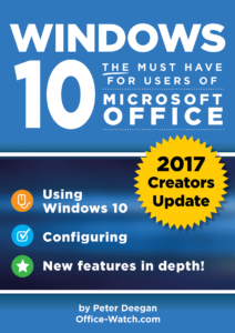 Windows 10 Creators for MS Office - cover