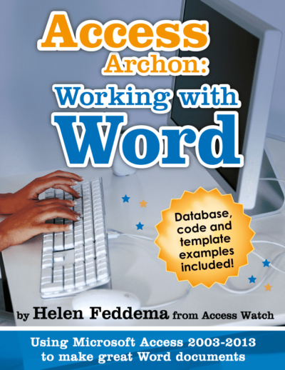 Working with Word 400x518 - Access Archon: Working with WORD