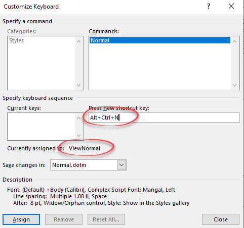 Add a fast keyboard shortcut for any Word style - Office Watch