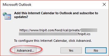 Tripit google calendar not updating
