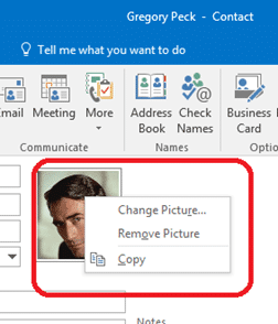 Contact pictures in Outlook - Office Watch