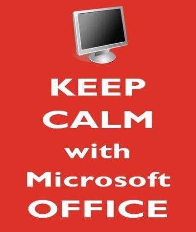 cover5 400x473 - Keep Calm with Microsoft Office