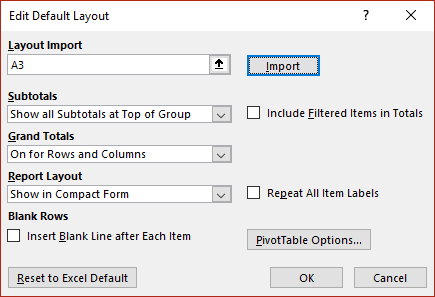 Excel PivotTables get better default options - Office Watch