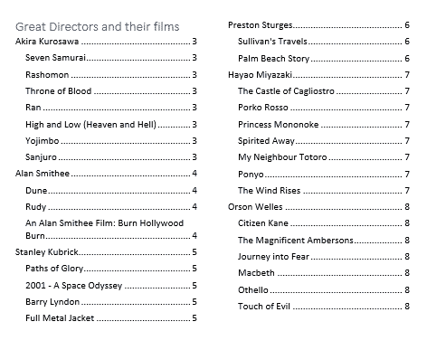 Four Tricks To Shrink A Table Of Contents In Word Office Watch - Remove Spacing In Table Of Contents Word