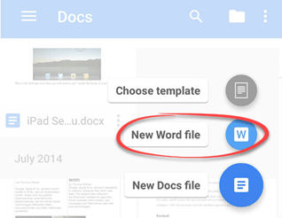 Google Docs Can Default To Microsoft Office Formats Office Watch - Docx to google docs