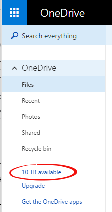 How to get more than 1TB of OneDrive space - Free - Office Watch