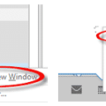 Outlook window positions explained