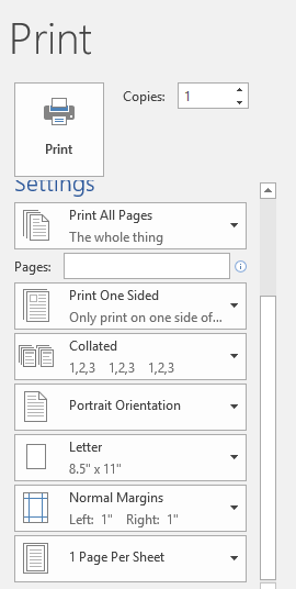 Printing tricks for Word and Office - Office Watch