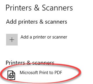 windows 7 save one page as pdf
