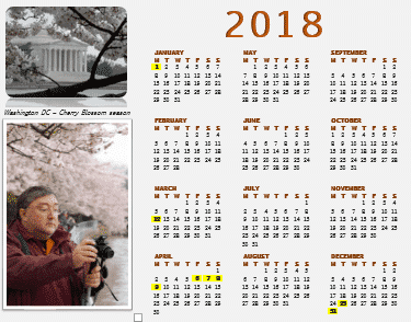 img 5aa65795b0148 - Make your own Yearly calendars and more in Word