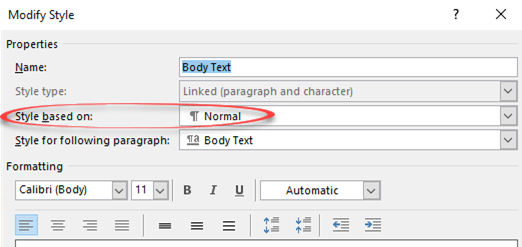img 5c17091a233f8 - Modifying Body Text style in Microsoft Word