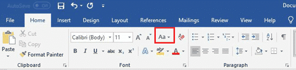 img 5caa22b352742 - Change Case in Microsoft Word