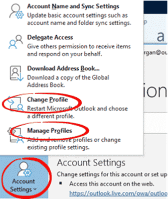 img 5dbf3929d978f - Outlook Profiles, important and useful but little known