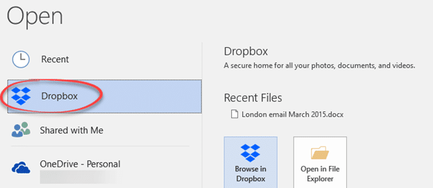 dropbox offline installer windows 10