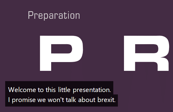 Live subtitles and translation in PowerPoint - how it works