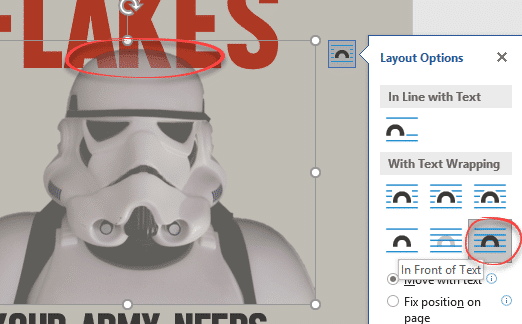 make your own snow flakes posters in word or powerpoint office watch