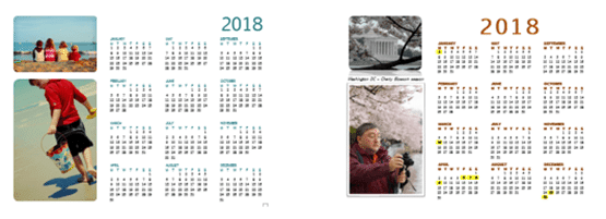 Making Yearly calendars and more from Word - Office Watch