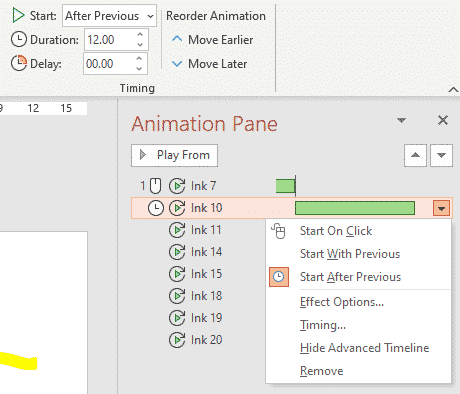 Much better Ink replay animation coming to PowerPoint