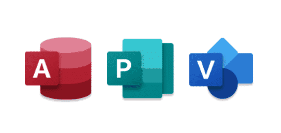 New icons for Access, Project and Visio     ho hum - Office
