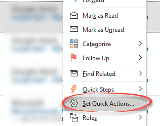 New in Outlook 365 – Quick Actions - Office Watch