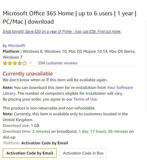 Office 365 discount for Amazon Prime members - Office Watch