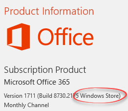 Office desktop now available via Microsoft Store for Windows