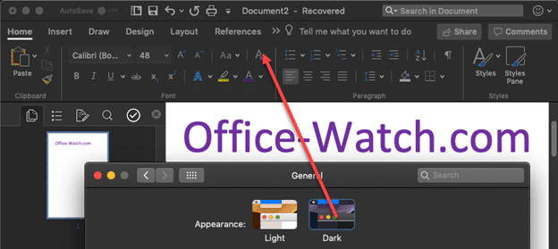 Microsoft office for mac mojave