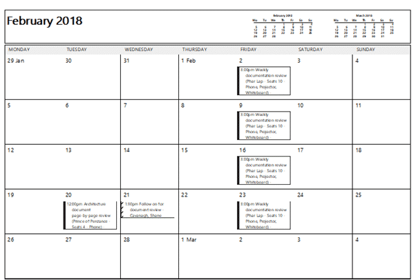 outlook print calendar options  weekly  monthly