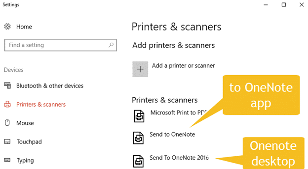 Print to OneNote - two methods now available - Office Watch