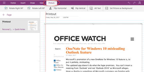 Microsoft kills OneNote for Windows - Office Watch