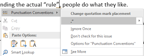 Punctuation Required With Quotes In Microsoft Word Office Watch