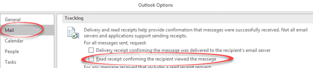 Read Receipt sending in Outlook for Windows / Mac - Office Watch