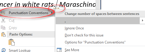 how to change the paragraph spacing in word 2017