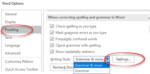 how to change spacing in word 2013