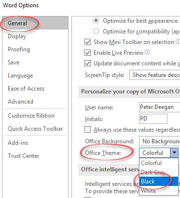 The Dark Truth behind Outlook's Dark Mode - Office Watch