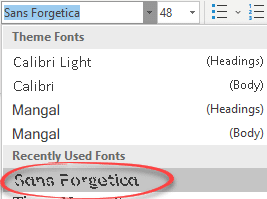 The Microsoft Office font that helps you remember - Office Watch