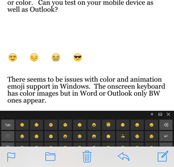 Using emoji in Microsoft Office - Office Watch