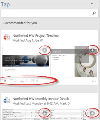 microsoft office timeline