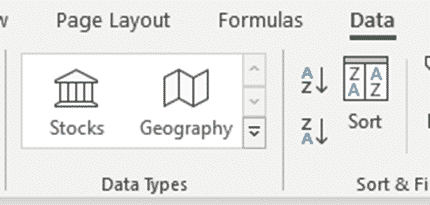 Where is Stock data in the latest Excel 365? - Office Watch
