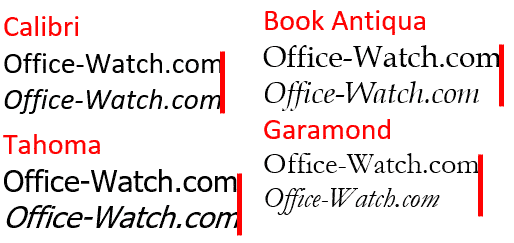 Fonts Archives - Office Watch