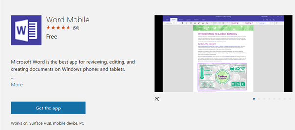 Windows 10 get free Office Mobile apps - Office Watch