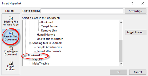 how to change link source in word